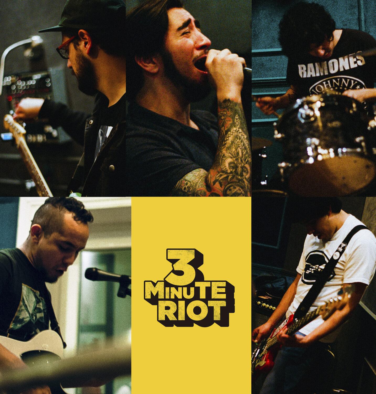 3 Minute Riot presenta su nuevo sencillo «Matt Deimon» – Habitantes del Rock