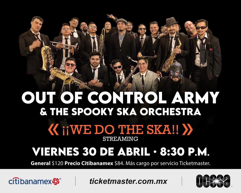 """Out Of Control Army & The Spooky Ska Orchestra armarán el baile en grande con su show vía streaming """"We Do The Ska"""""""