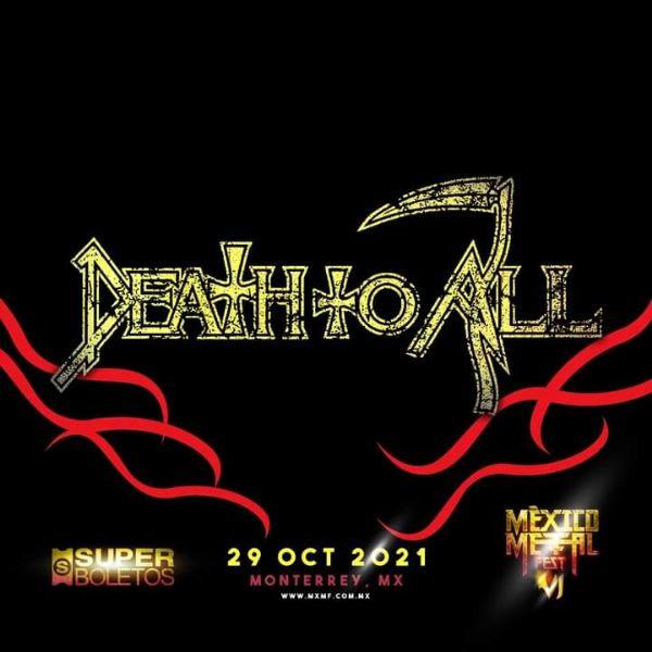 Va por la nostalgia: Death To All se presentará en el MxMFVI